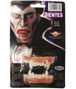 Vampyr hugtænder i latex