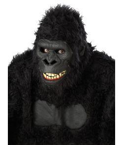 Gorilla maske med bevægelig mund.