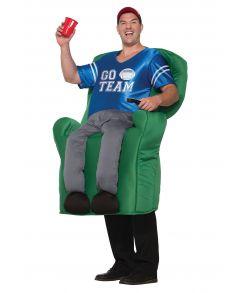 Fan i stol kostume.