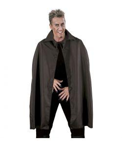 Sort kappe til voksne til halloween.