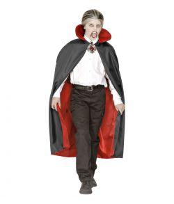 Sort kappe til vampyr udklædningen.