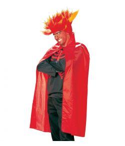 Rød kappe kostume til voksne til halloween udklædning