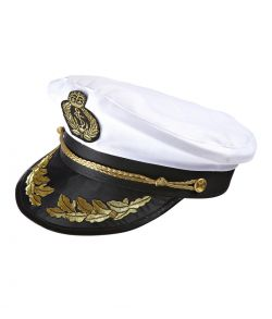 Kaptajnskasket til kostume.