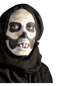 Uhyggelige tænder til halloween kostume.