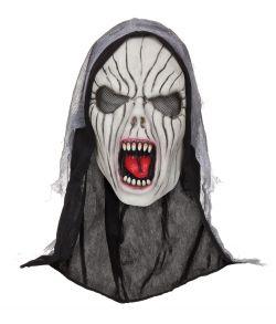 Skrigende spøgelsesmaske i latex