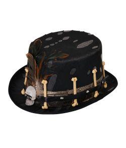Høj heksedoktor hat