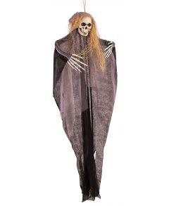Skræmmende skelet ophæng 150 cm.