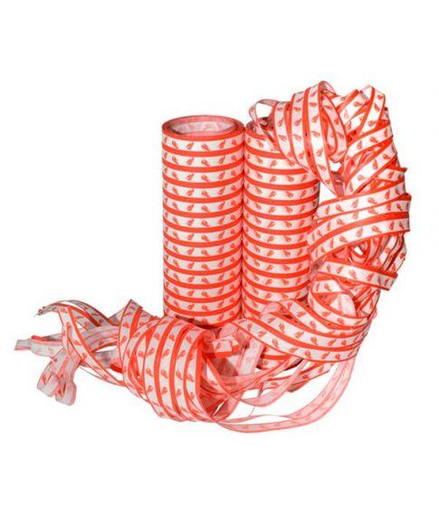 Røde og hvide Krebsegilde serpentiner