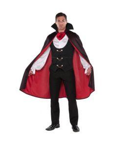 Vampyr kostume til halloween.