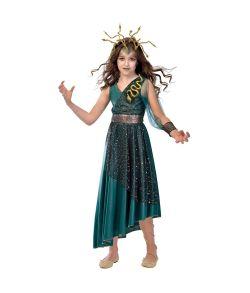 Medusa kostume til piger.