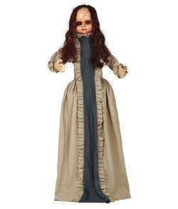 Uhyggelig dukke til halloween.