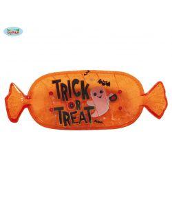 Halloween fad i plastik til slik, chips eller andre godter.