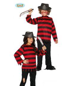Freddy Krueger kostume til børn.