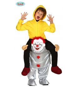 Bad Clown piggy back