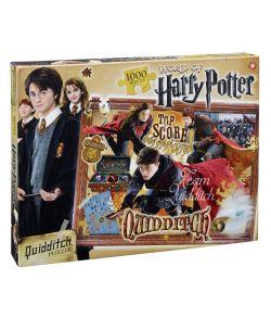 Harry Potter Quidditch puslespil med 1000 brikker.
