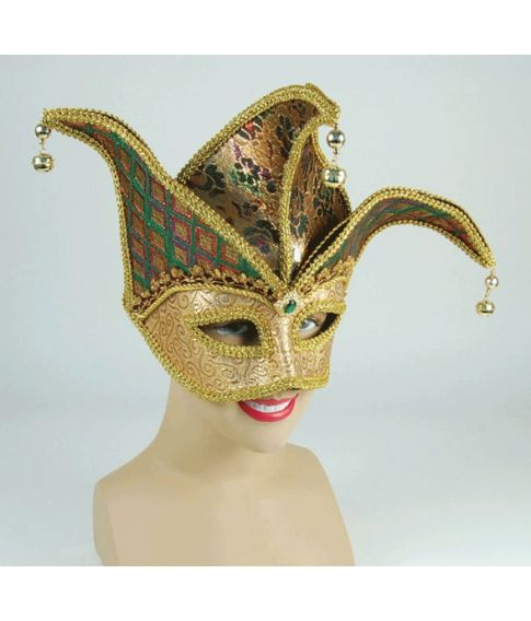 Gold Face Jester