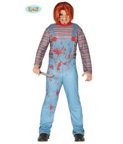 Halloween dukke kostume til voksne.