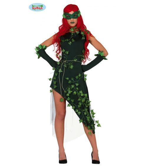 Halloween kostume til Poison Ivy udklædningen