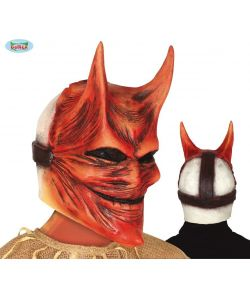 Lucifer latex maske.