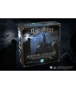 Harry Potter puslespil med Dementors ved Hogwarts.