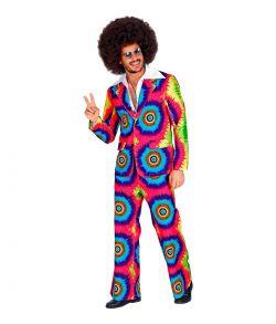 Smart Tie Dye jakkesæt til 70er festen.