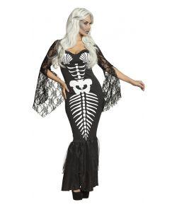 Havfrue skelet kjole
