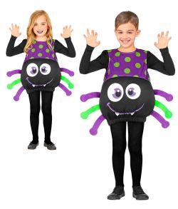 Edderkop kostume til børn.
