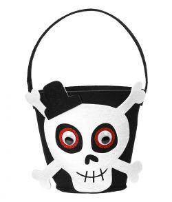 Skelet trick or treat spand til halloween