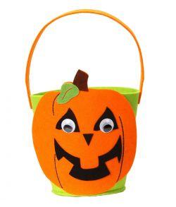 Græskar trick or treat spand til halloween