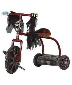 Uhyggelig kranie 3-hjulet cykel