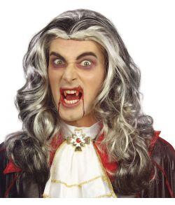 Flot vampyr paryk til kostume.