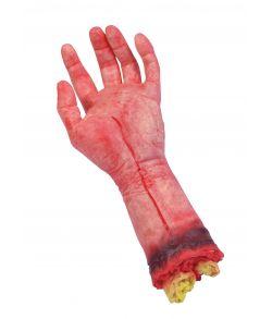 Afrevet hånd