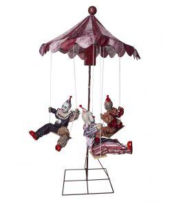 Halloween cirkusklovne på karrusel
