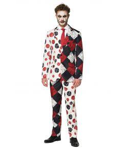Uhyggeligt klovne jakkesæt fra Suitmeister.