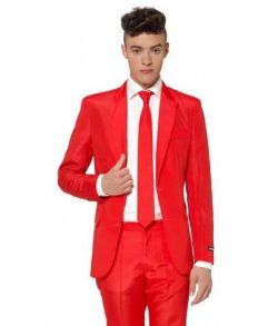 Suitmeister Rødt jakkesæt