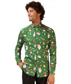 Juleskjorte til mænd fra Opposuits.