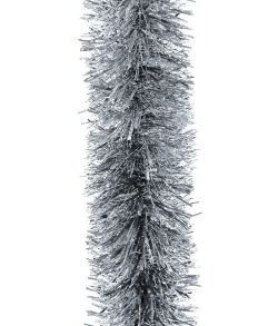 Flot stor sølv metallic guirlande diameter på 20 cm