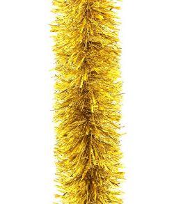 Flot stor guld metallic guirlande diameter på 20 cm