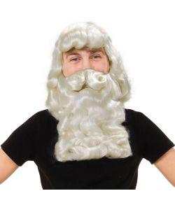 Julemand paryk og skæg.