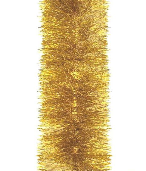 Guld guirlande 12 cm