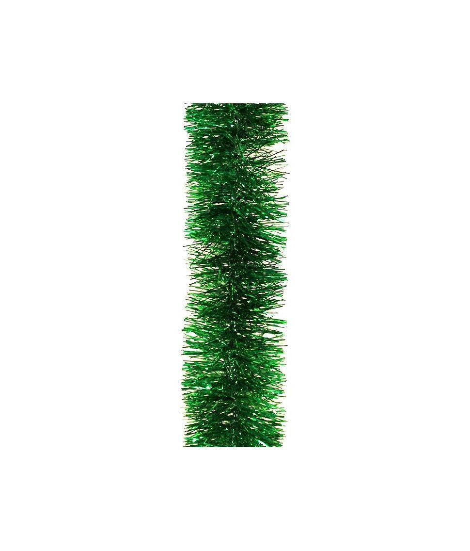 Grøn folieguirlande 3 m