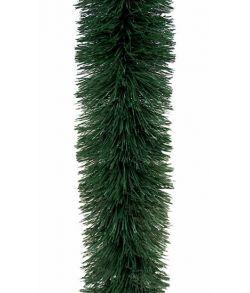 Flot stor grangrøn guirlande med diameter på 15 cm