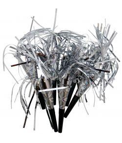 Nytårshorn, sølv metallic