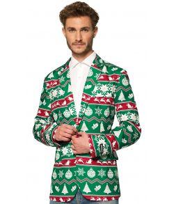 Suitmeister Green Nordic blazer