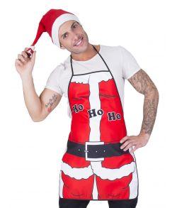 Sjovt forklæde til julemiddagen