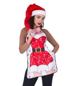 Sødt forklæde til julemiddagen