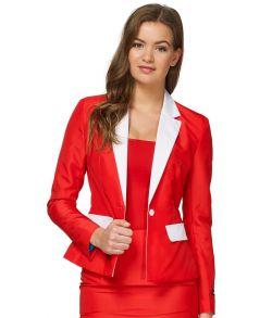 Suitmeister Santa Outfit jakkesæt til damer.