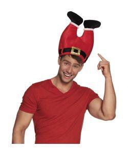 Sjov rød nissebukse hat