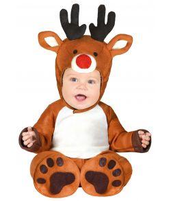 Rensdyr kostume til babyer.
