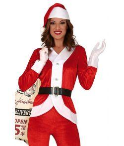 Julepige kostume til damer.